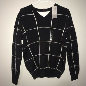 Tommy Hilfiger Mens Reversible Sweater